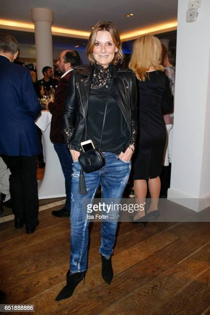 German host and singer Kim Fischer attends the 'Baltic Lights' charity event on March 10 2017 in Heringsdorf Germany Every year German actor Till...