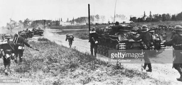 German invasion of Poland 1 September 1939 using 45 German divisions and aerial attack By 20 September only Warsaw held out but final surrender came...