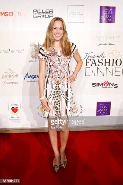 German kick boxing champion Christine Theiss attends the Kempinski Fashion Dinner on May 23 2017 in Munich Germany