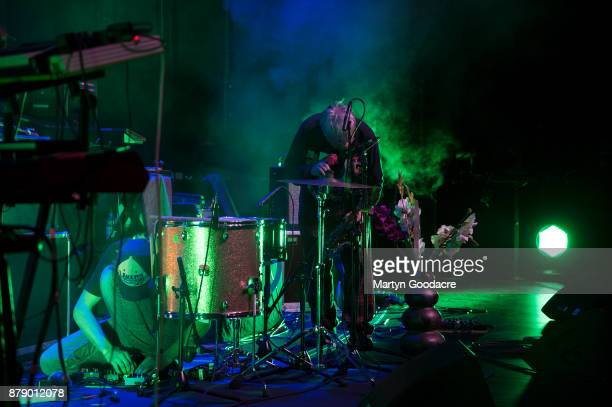German Krautrock band Camera perform at Volksbuhne Berlin Germany on November 19 2017