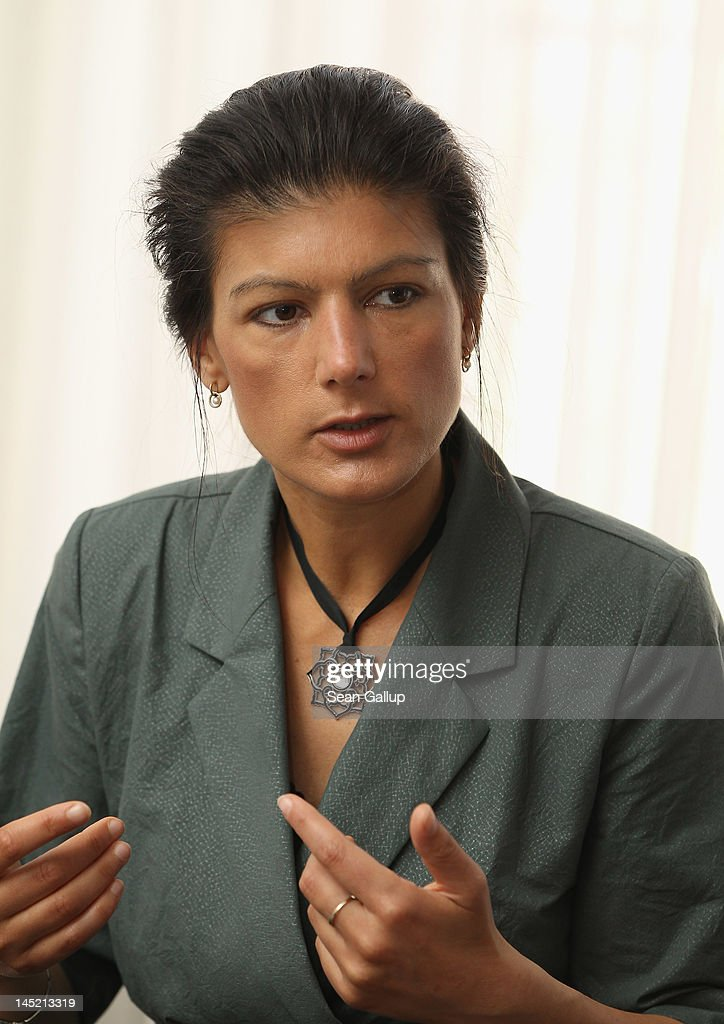 Sahra Wagenknecht Speaks To Foreign Journalists' Association | Getty ...
