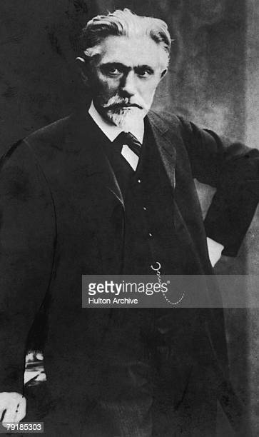 German Marxist theoretician and cofounder of the German Social Democratic Party August Bebel circa 1900