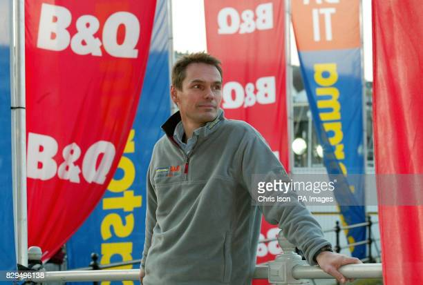 German Meteorologist Dr Meeno Schrader awaiting the return of yachtswoman Ellen MacArthur who could become the fastest person to circumnavigate the...