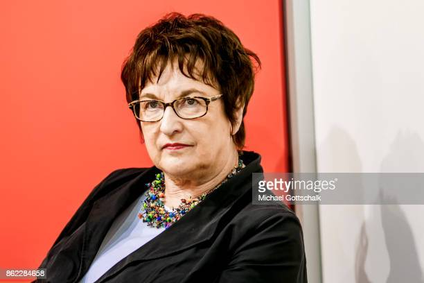 German Minister for Economics Brigitte Zpries attends Frankfurt Book Fair 2017 on October 12 2017 in Frankfurt Germany