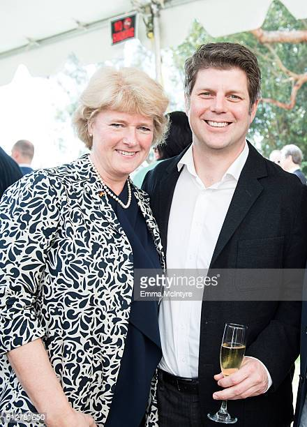 German Minister of State for Culture and the Media Prof Monika Gruetters and Production Designer Adam Stockhausen attend the German Oscar nominees...