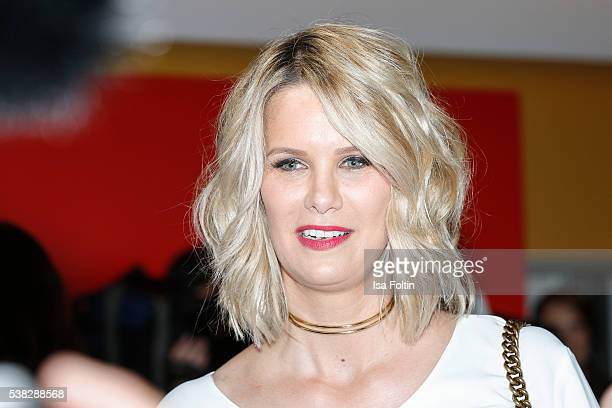 German model and actress Monica Ivancan attends the Green Tec Award at ICM Munich on May 29 2016 in Munich Germany