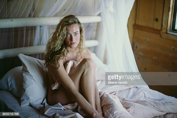 German model and actress Tatjana Patitz