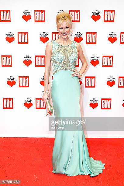German model and moderator Lisa Loch attends the Ein Herz Fuer Kinder gala on December 3 2016 in Berlin Germany