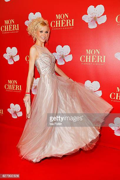 German model and moderator Lisa Loch attends the Mon Cheri Barbara Tag at Postpalast on December 2 2016 in Munich Germany