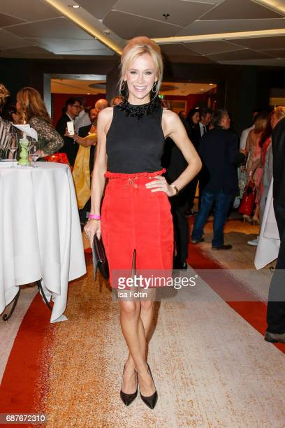 German model and presenter Lisa Loch attends the Kempinski Fashion Dinner on May 23 2017 in Munich Germany
