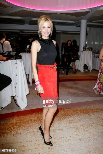 German model and presenter Lisa Loch during the Kempinski Fashion Dinner on May 23 2017 in Munich Germany