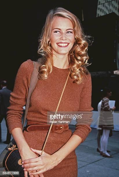 German model Claudia Schiffer 1992