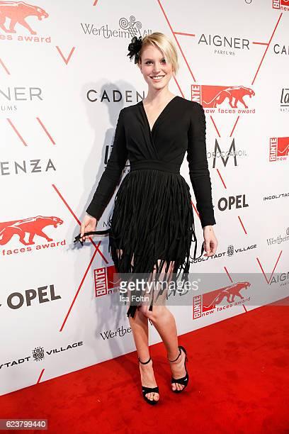 German model Kim Hnizdo attends the New Faces Award Fashion 2016 the New Faces Award Fashion 2016 on November 16 2016 in Berlin Germany