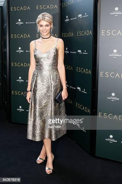 German Model Luisa Hartema attends the ESCADA Flagship Store Opening on June 23 2016 in Duesseldorf Germany