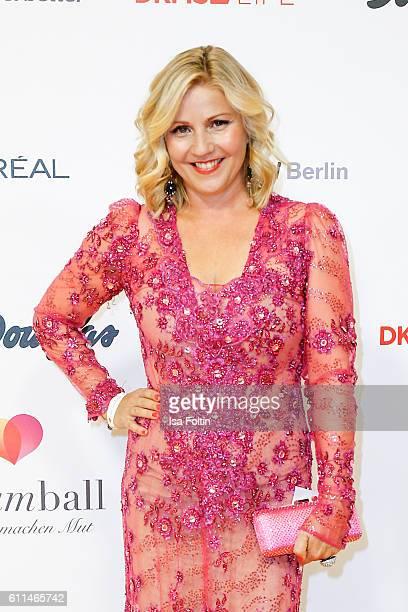 German moderator Aleksandra Bechtel attends the Dreamball 2016 at Ritz Carlton on September 29 2016 in Berlin Germany