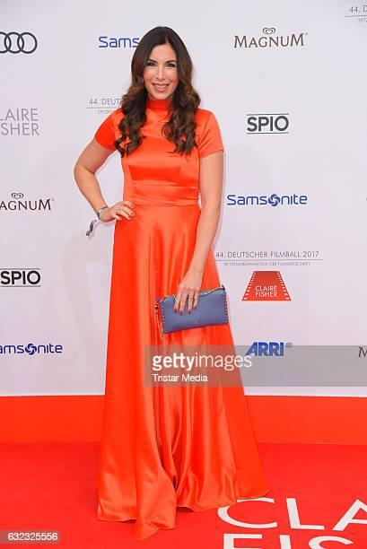 German moderator Alexandra Polzin attends the German Film Ball 2017 at Hotel Bayerischer Hof on January 21 2017 in Munich Germany