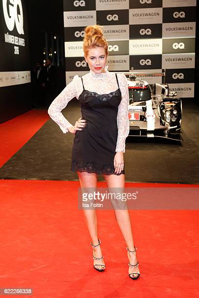 German moderator and DJ Palina Rojinski attends the GQ Men of the year Award 2016 at Komische Oper on November 10 2016 in Berlin Germany