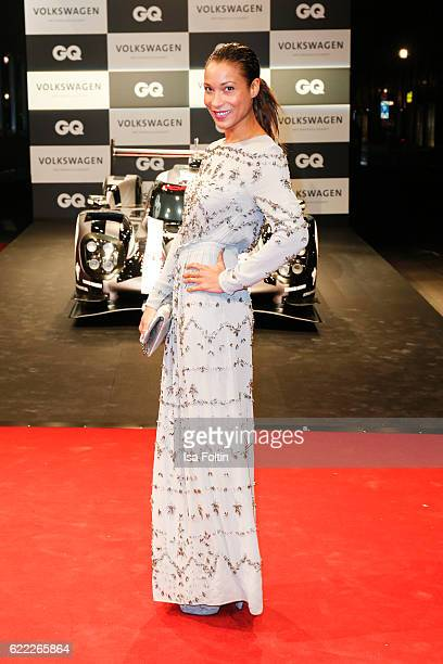 German moderator Annabelle Mandeng attends the GQ Men of the year Award 2016 at Komische Oper on November 10 2016 in Berlin Germany