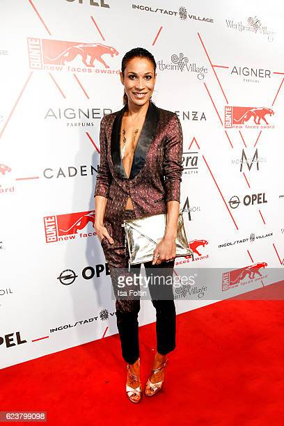 German moderator Annabelle Mandeng attends the New Faces Award Fashion 2016 the New Faces Award Fashion 2016 on November 16 2016 in Berlin Germany