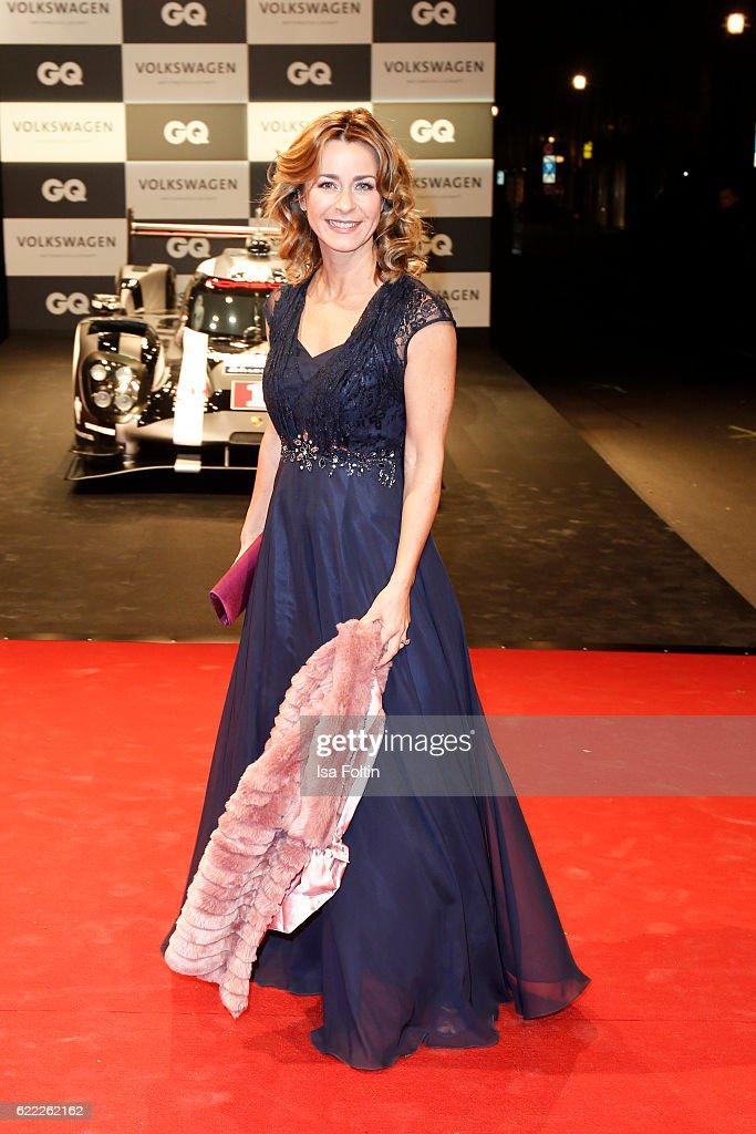 German moderator Bettina Cramer attends the GQ Men of the year Award 2016 (german: GQ Maenner des Jahres 2016) at Komische Oper on November 10, 2016 in Berlin, Germany.