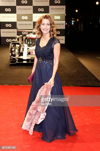 German moderator Bettina Cramer attends the GQ Men of the year Award 2016 at Komische Oper on November 10 2016 in Berlin Germany