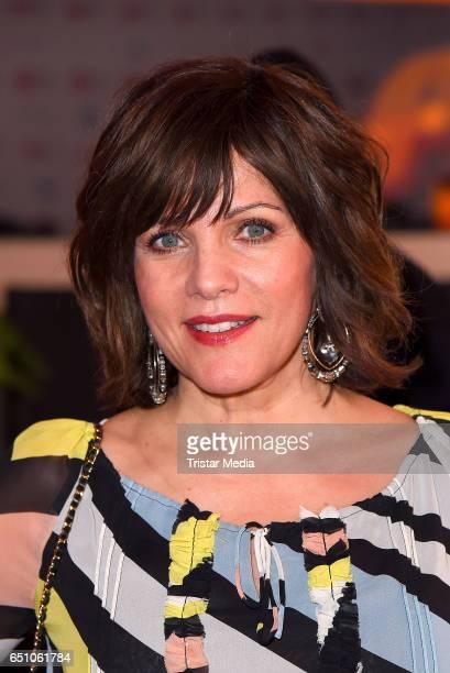 German moderator Birgit Schrowange attends the JT Touristik Pink Carpet party at Hotel De Rome on March 9 2017 in Berlin Germany