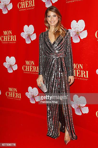 German moderator Catherine Hummels attends the Mon Cheri Barbara Tag at Postpalast on December 2 2016 in Munich Germany