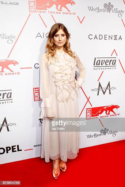 German moderator Catherine Hummels attends the New Faces Award Fashion 2016 the New Faces Award Fashion 2016 on November 16 2016 in Berlin Germany