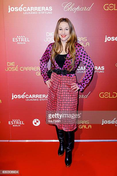 German moderator Claudia Campus attends the 22th Annual Jose Carreras Gala on December 14 2016 in Berlin Germany