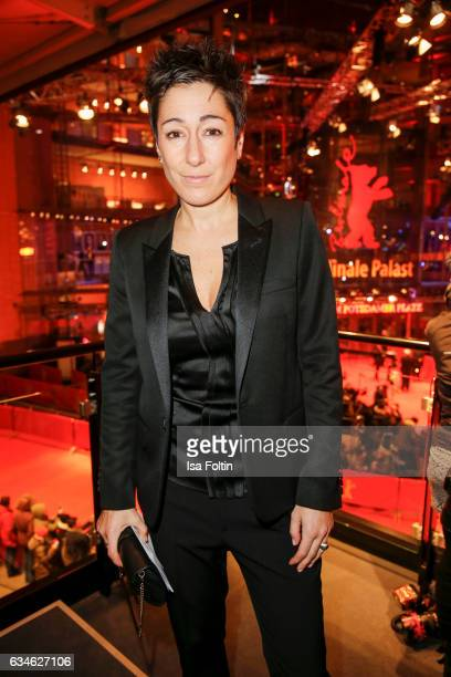 German moderator Dunja Hayali attends the Audi Lounge Night Audi At The 67th Berlinale International Film Festival on February 9 2017 in Berlin...