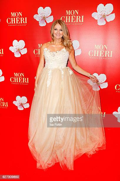 German moderator Frauke Ludowig attends the Mon Cheri Barbara Tag at Postpalast on December 2 2016 in Munich Germany