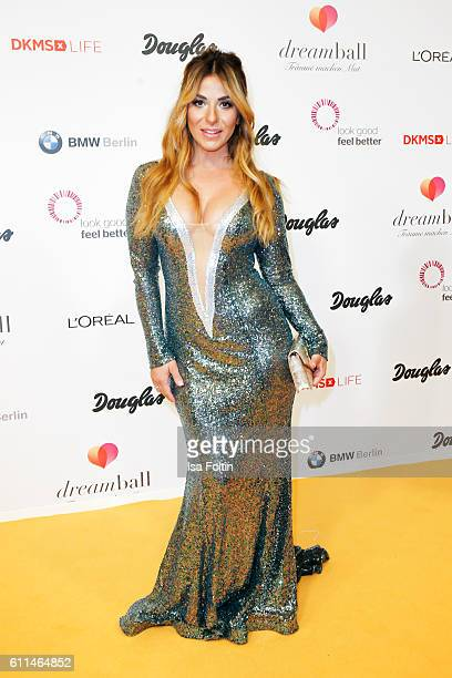 German moderator Guelcan Kamps attends the Dreamball 2016 at Ritz Carlton on September 29 2016 in Berlin Germany