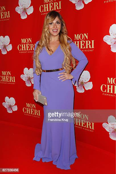 German moderator Guelcan Kamps attends the Mon Cheri Barbara Tag at Postpalast on December 2 2016 in Munich Germany