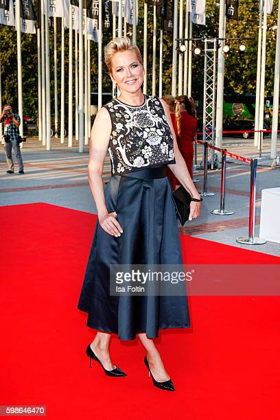 German moderator Inka Bause attends the IFA 2016 opening gala on September 1 2016 in Berlin Germany