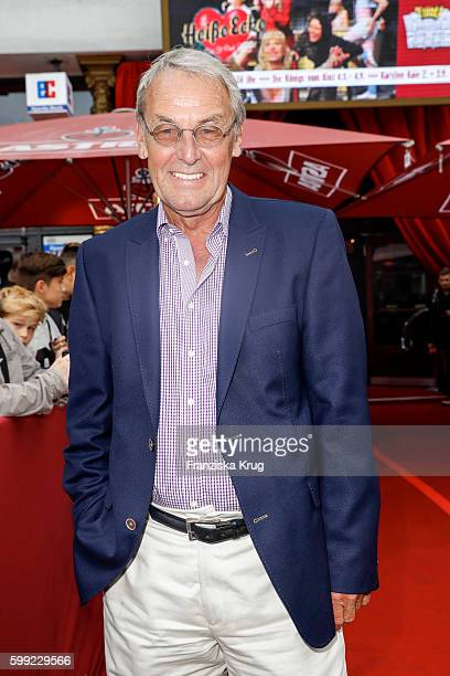 German moderator Joerg Wontorra attends the 'Nacht der Legenden' at Schmidts Tivoli on September 04 2016 in Hamburg Germany