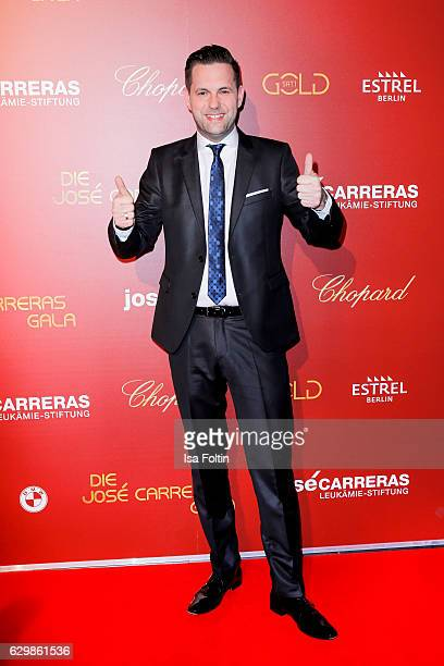German moderator Matthias Killing attends the 22th Annual Jose Carreras Gala on December 14 2016 in Berlin Germany