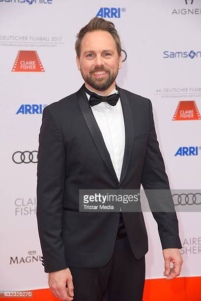 German moderator Steven Gaetjen attends the German Film Ball 2017 at Hotel Bayerischer Hof on January 21 2017 in Munich Germany