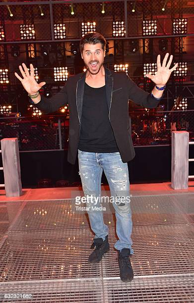 German moderator Thore Schoelermann during the 'The Voice Kids' photo call on January 21 2017 in Berlin Germany