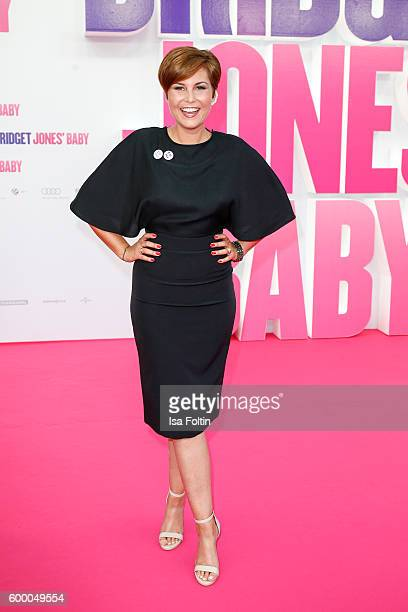 German moderator Vanessa Blumhagen attends the 'Bridget Jones Baby' German Premiere at Zoo Palast on September 7 2016 in Berlin Germany
