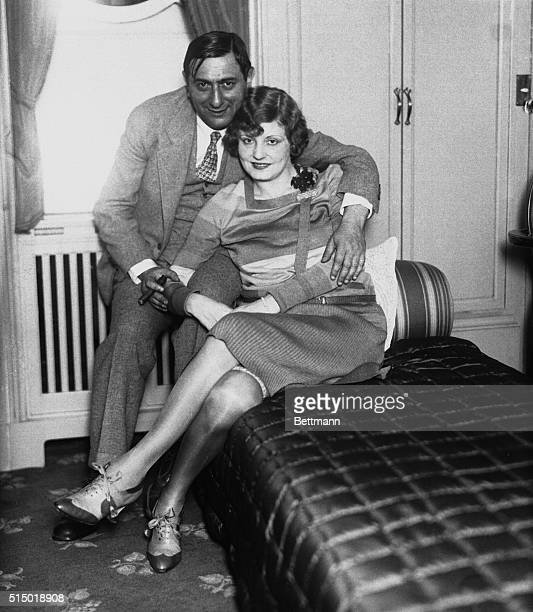 German movie producer Mr and Mrs Ernst Lubitsch sailed on SS Hamburg in their state room