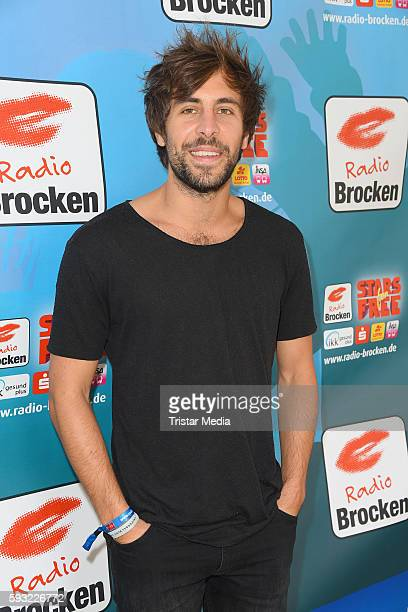 German musician Max Giesinger attends the Radio Brocken Sommer Open Air Stars For Free on August 21 2016 in Magdeburg Germany