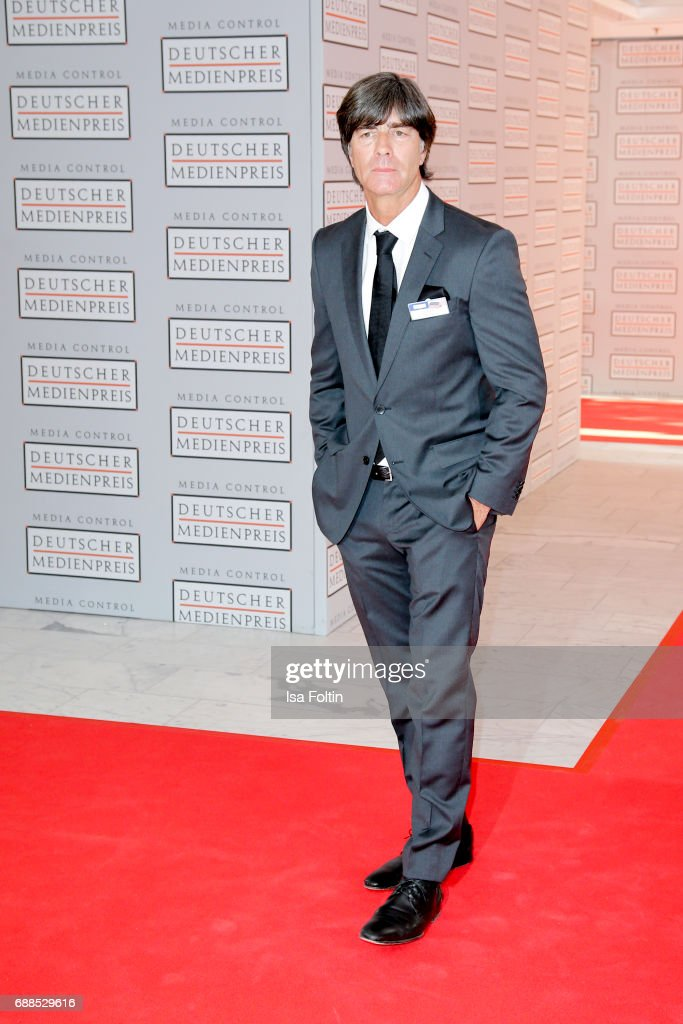 German national soccer team trainer Joachim Loew during the German Media Award 2016 at Kongresshaus on May 25, 2017 in Baden-Baden, Germany. The German Media Award (Deutscher Medienpreis) has been presented annually since 1992 to honor personalities from public life.