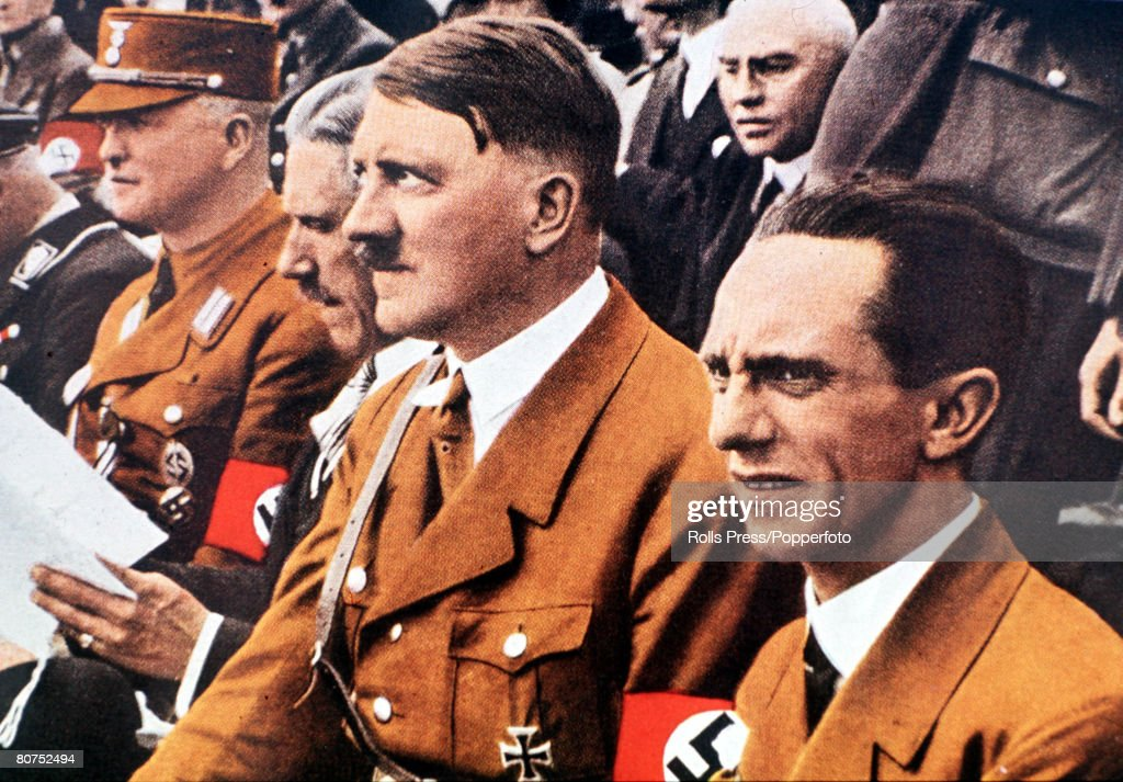 Image result for goebbels and hitler picture