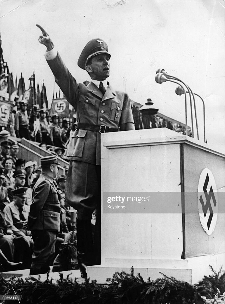 the influence of adolf hitlers propaganda led by joseph goebbels During world war ii, germany was a single party state led by adolf hitler   people who created it, and how propaganda could have influenced the   appointed josef goebbels a member of the german government and.