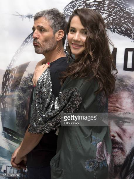 German Palacios and Natalia Oreiro attend the premiere of 'Los Ultimos' at the Buenos Aires Dot Hoyts cinema on November 6 2017 in Buenos Aires...