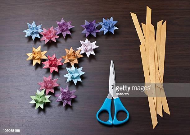 German Paper Stars (Froebelsterne)