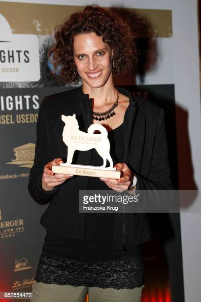 German pentathlete Lena Schoeneborn attends the 'Baltic Lights' charity event on March 11 2017 in Heringsdorf Germany Every year German actor Till...
