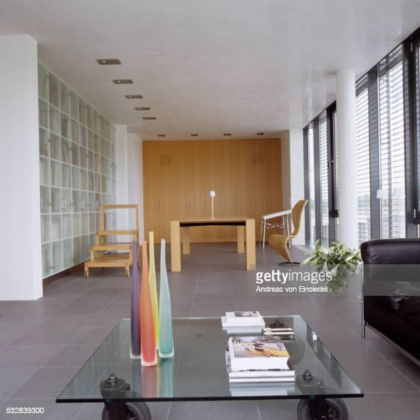 German penthouse with minimalist design