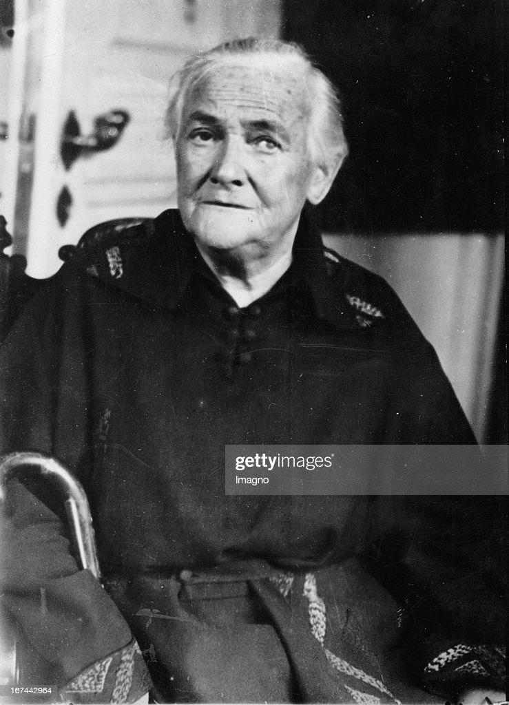 German politician and member of parliament Klara Zetkin. About 1931. Photograph. (Photo by Imagno/Getty Images) Die deutsche Politikerin und Reichstagsabgeordnete Klara Zetkin. Um 1931. Photographie.