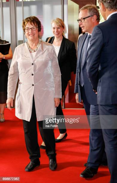 German politician Brigitte Zypries attends the Deutscher Gruenderpreis on June 20 2017 in Berlin Germany